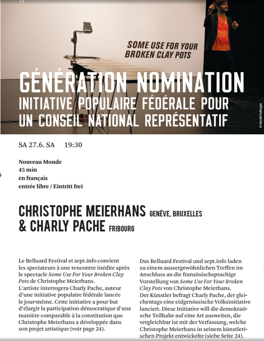 Generation Nomination Belluard 2015