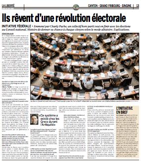 Ils rêvent d'une révolution électorale